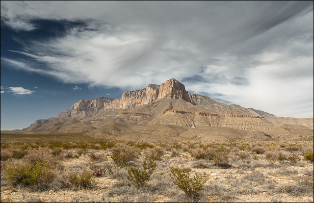 El Capitan and Guadalupe Peak