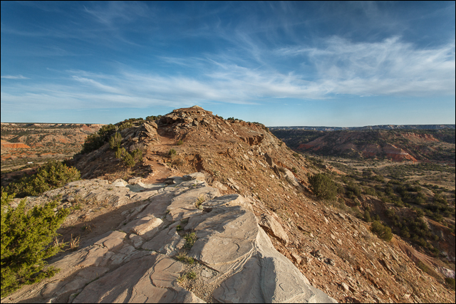Hiking Palo Duro Canyon