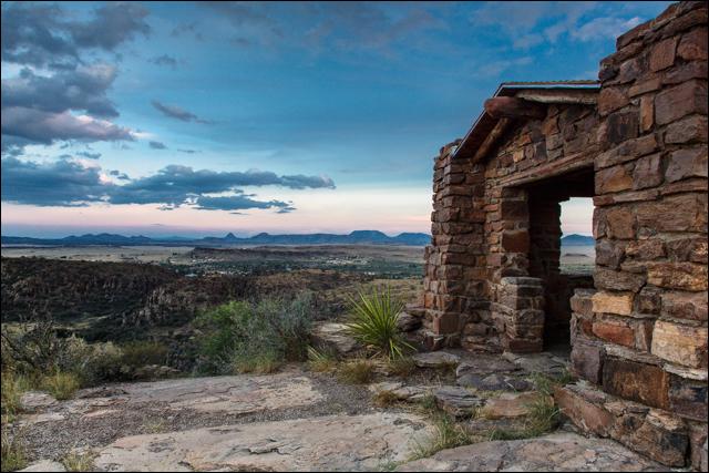 Davis Mountains Overlook