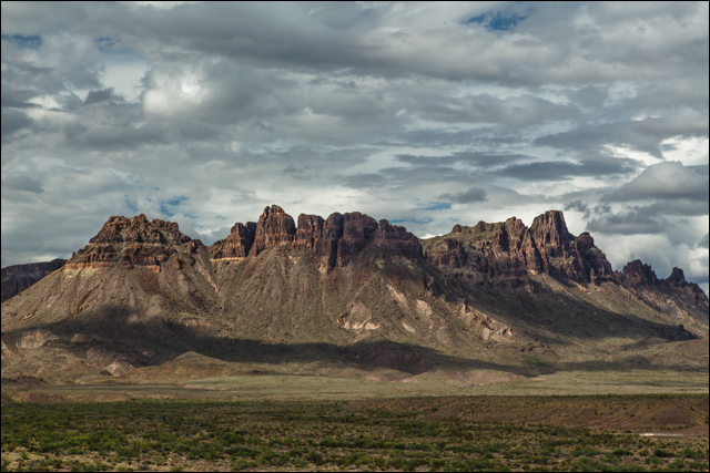 South Rim of the Chisos Mountains