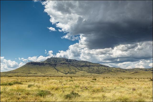 Davis Mountains Cloudscape