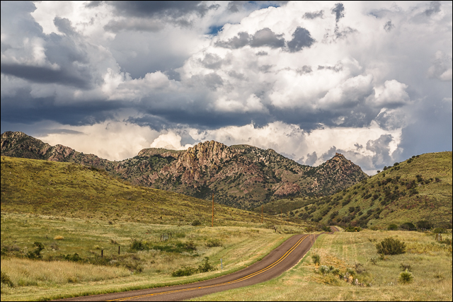 Mountain Drive - Davis Mountains, Texas