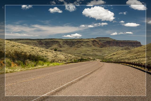 The Road to Paradise - Davis Mountains, Texas